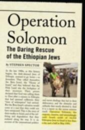 Operation Solomon: The Daring Rescue of the Ethiopian Jews