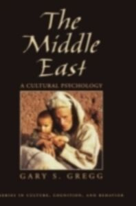 Ebook in inglese Middle East: A Cultural Psychology Gregg, Gary S.
