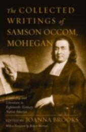 Collected Writings of Samson Occom, Mohegan
