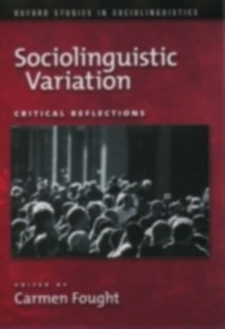 Ebook in inglese Sociolinguistic Variation: Critical Reflections -, -