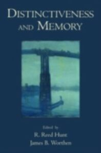 Ebook in inglese Distinctiveness and Memory