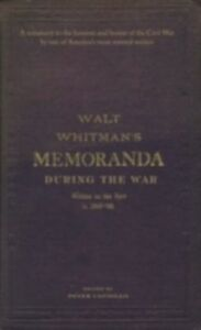 Ebook in inglese Memoranda During the War WALT, WHITMAN