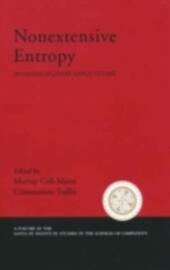 Nonextensive Entropy Interdisciplinary Applications