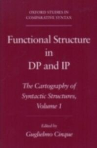 Ebook in inglese Functional Structure in DP and IP: The Cartography of Syntactic Structures, Volume 1