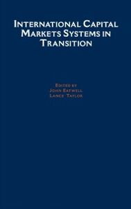 Ebook in inglese International Capital Markets: Systems In Transition -, -