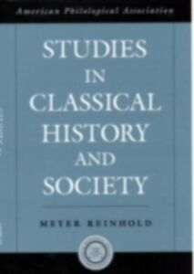 Ebook in inglese Studies in Classical History and Society Reinhold, Meyer