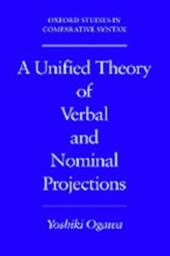 Unified Theory of Verbal and Nominal Projections
