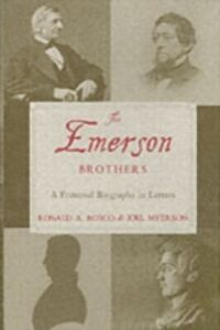 Foto Cover di Emerson Brothers: A Fraternal Biography in Letters, Ebook inglese di Ronald A. Bosco,Joel Myerson, edito da Oxford University Press