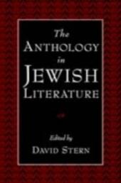 Anthology in Jewish Literature