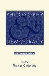 Philosophy and Democracy: An Anthology