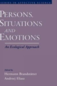 Ebook in inglese Persons, Situations, and Emotions: An Ecological Approach -, -