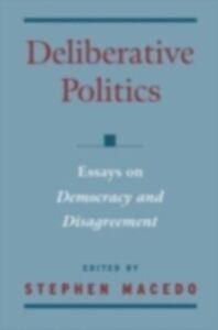 Ebook in inglese Deliberative Politics Macedo, Stephen