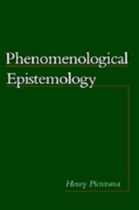 Ebook in inglese Phenomenological Epistemology Pietersma, Henry