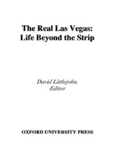Foto Cover di Real Las Vegas: Life Beyond the Strip, Ebook inglese di  edito da Oxford University Press