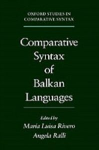 Ebook in inglese Comparative Syntax of the Balkan Languages -, -