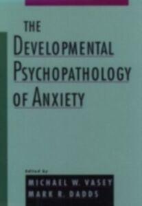Ebook in inglese Developmental Psychopathology of Anxiety -, -