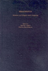 Ebook in inglese Fragments: Studies in Ellipsis and Gapping -, -