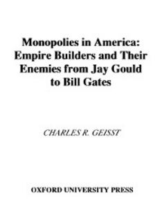 Ebook in inglese Monopolies in America R, GEISST CHARLES