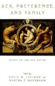 Foto Cover di Sex, Preference, and Family: Essays on Law and Nature, Ebook inglese di  edito da Oxford University Press