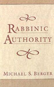 Foto Cover di Rabbinic Authority, Ebook inglese di Michael S. Berger, edito da Oxford University Press