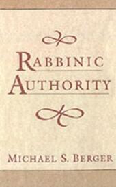 Rabbinic Authority