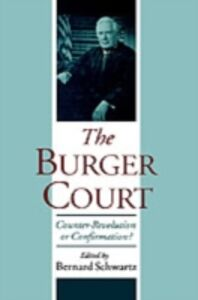 Foto Cover di Burger Court: Counter-Revolution or Confirmation?, Ebook inglese di  edito da Oxford University Press