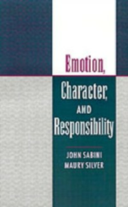 Ebook in inglese Emotion, Character, and Responsibility Sabini, John , Silver, Maury