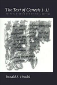 Foto Cover di Text of Genesis 1-11: Textual Studies and Critical Edition, Ebook inglese di Ronald S. Hendel, edito da Oxford University Press