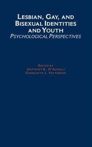 Ebook in inglese Lesbian, Gay, and Bisexual Identities and Youth: Psychological Perspectives -, -