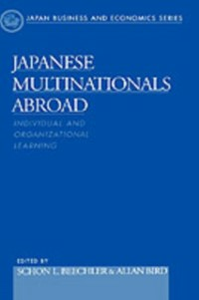Ebook in inglese Japanese Multinationals Abroad: Individual and Organizational Learning -, -