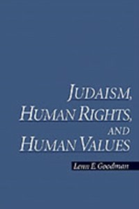 Ebook in inglese Judaism, Human Rights, and Human Values Goodman, Lenn E.
