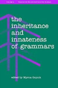 Ebook in inglese Inheritance and Innateness of Grammars -, -