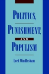 Ebook in inglese Politics, Punishment, and Populism Windlesha, indlesham