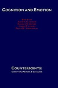 Ebook in inglese Cognition and Emotion Bower, Gordon H. , Eich, Eric , Forgas, Joseph P. , Niedenthal, Paula M.