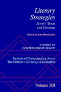 Ebook in inglese Studies in Contemporary Jewry: Volume XII: Literary Strategies: Jewish Texts and Contexts -, -