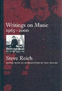 Ebook in inglese Writings on Music, 1965-2000 Reich, Steve