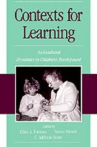 Ebook in inglese Contexts for Learning Forman, Ellice A. , Minick, Norris , Stone, C. Addison