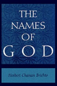 Ebook in inglese Names of God: Poetic Readings in Biblical Beginnings Brichto, Herbert Chanan