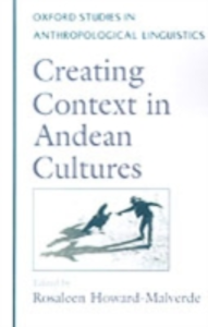 Ebook in inglese Creating Context in Andean Cultures -, -