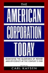 Ebook in inglese American Corporation Today -, -