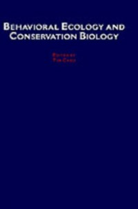Ebook in inglese Behavioral Ecology and Conservation Biology -, -
