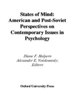 Ebook in inglese States of Mind: American and Post-Soviet Perspectives on Contemporary Issues in Psychology -, -