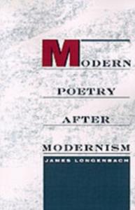 Ebook in inglese Modern Poetry after Modernism Longenbach, James