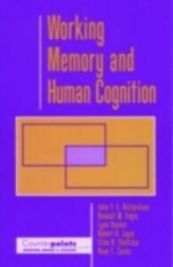 Ebook in inglese Working Memory and Human Cognition Engle, Randall W. , Hasher, Lynn , Logi, ogie , Richardson, John T. E.