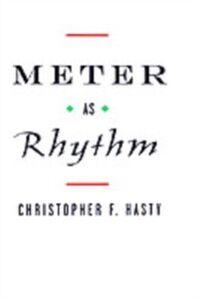 Foto Cover di Meter As Rhythm, Ebook inglese di Christopher Hasty, edito da Oxford University Press