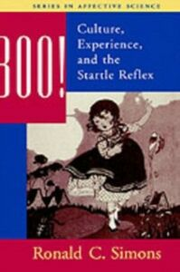 Ebook in inglese Boo! Culture, Experience, and the Startle Reflex Simons, Ronald