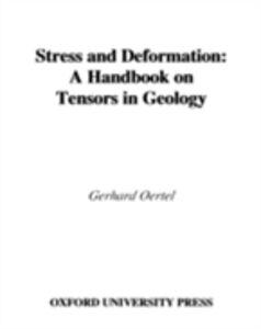 Foto Cover di Stress and Deformation: A Handbook on Tensors in Geology, Ebook inglese di Gerhard Oertel, edito da Oxford University Press