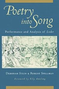 Foto Cover di Poetry into Song: Performance and Analysis of Lieder, Ebook inglese di Robert Spillman,Deborah Stein, edito da Oxford University Press