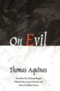 Ebook in inglese On Evil Aquinas, Thomas