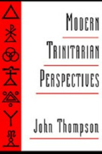 Ebook in inglese Modern Trinitarian Perspectives Thompson, John